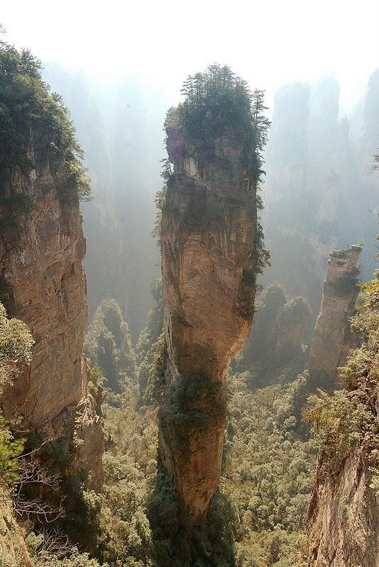 Пандора на Земле. Национальный парк Чжанцзяцзе