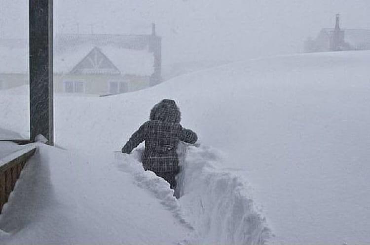 Забавные фотографии настоящей русской весны