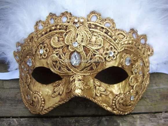 Скоро Новый год! Делаем маску своими руками!