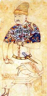 Эскиз к миниатюре. 1425-1450