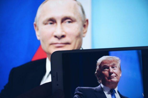 Путин и Трамп: опубликовано рукопожатие, которого ждал весь мир