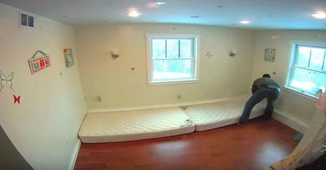 Отец вынес всю мебель из комнаты дочерей. Спустя 3 дня их мечта осуществилась!