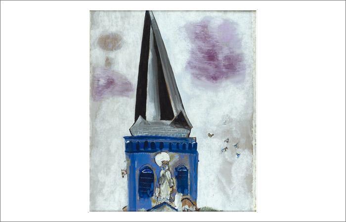 Картину Шагала выставили на аукцион за 1 рубль