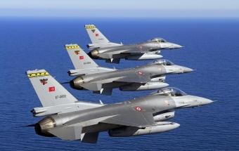 Четыре турецких F-16 против двух российских истребителей в небе Сирии