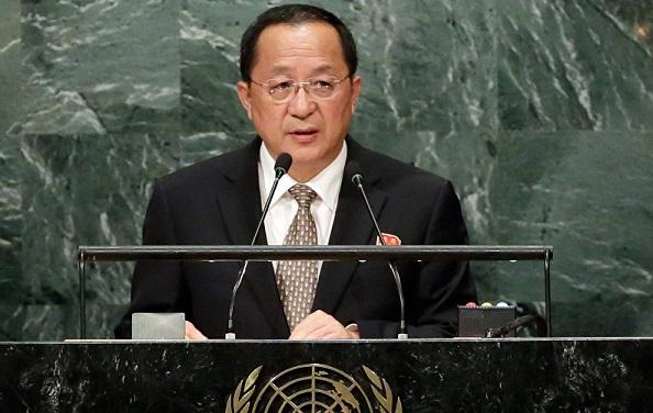 Глава МИД КНДР: Трамп хочет превратить ООН влогово бандитов