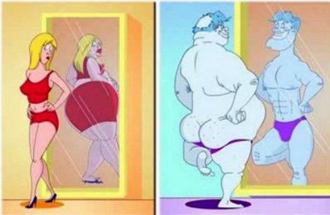 Вот она, разница между мужчиной и женщиной