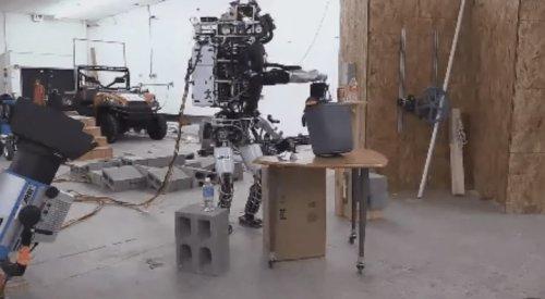 Робот IHMC ATLAS #3