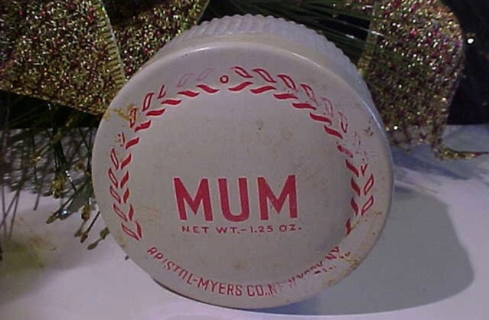 Первые дезодоранты бренда *Мама*