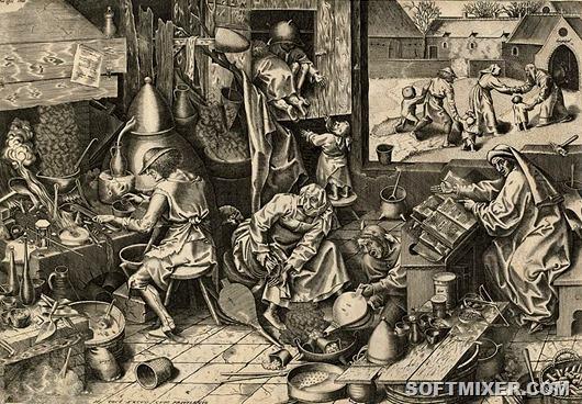 Алхимия: золото из свинца или путь к благородству