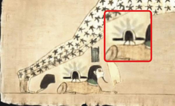Эти древние египетские рукописи свидетельствуют о приземлении НЛО на Сфинкса