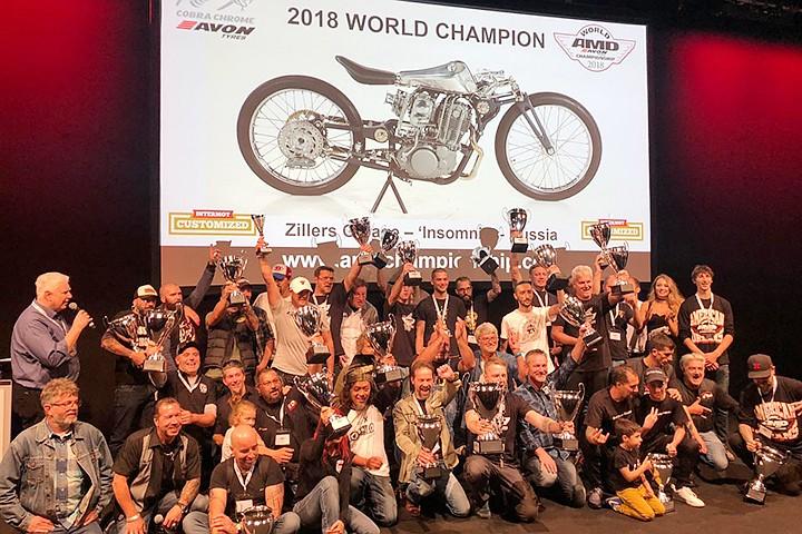 Чемпионат мира по кастомайзингу мотоциклов впервые выиграл россиянин