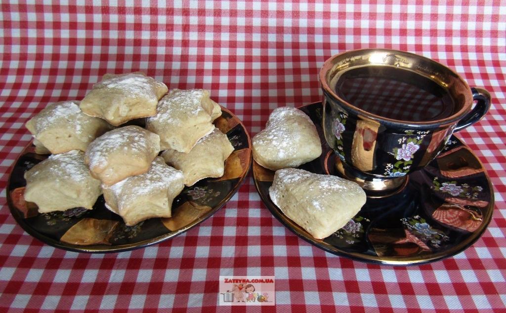 Мягкое домашнее печенье на сметане