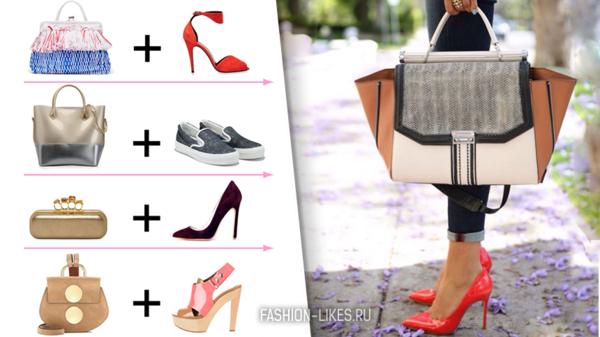 6 гениальных идей, как сочетать обувь и сумку летом