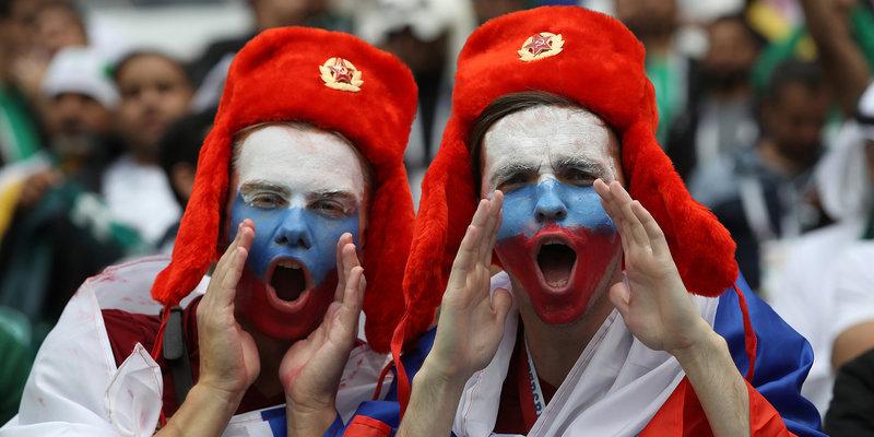 Фестиваль болельщиков в Москве собрал порядка 67 тысяч человек за день