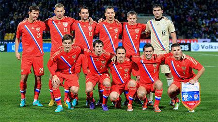 Сборная России сохранила девятое место в рейтинге ФИФА