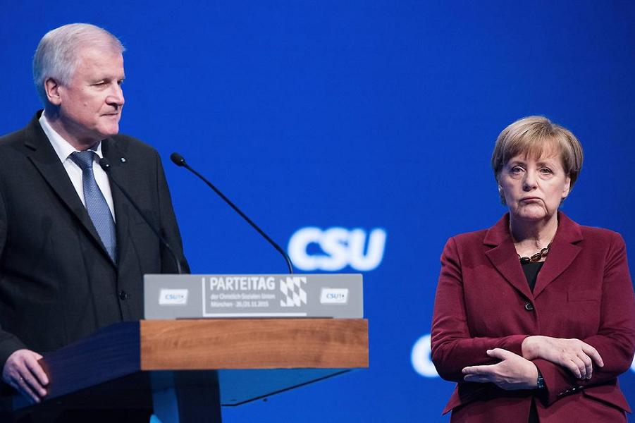 Проблема мигрантов в Германи…