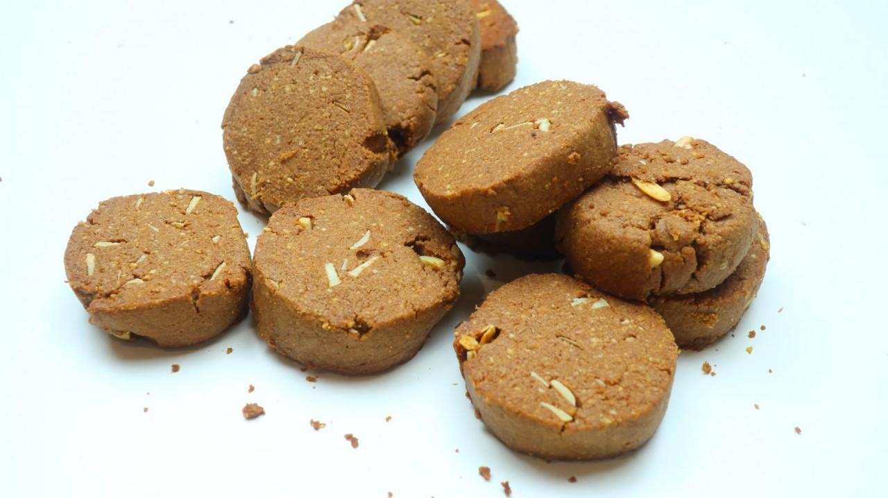Шоколадное печенье Алмаз