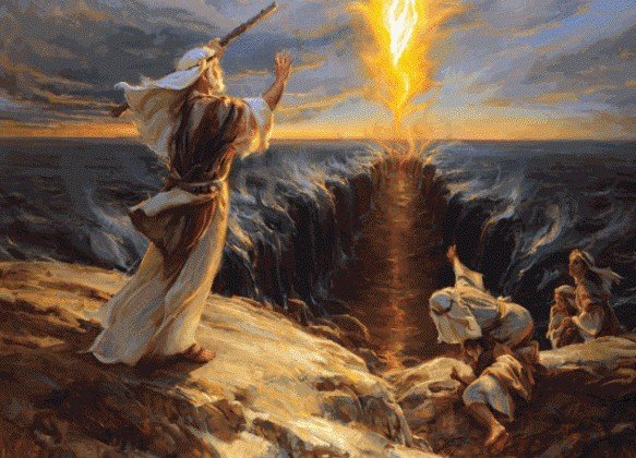 Сколько мощности надо что бы перед Моисеем расступилось море?