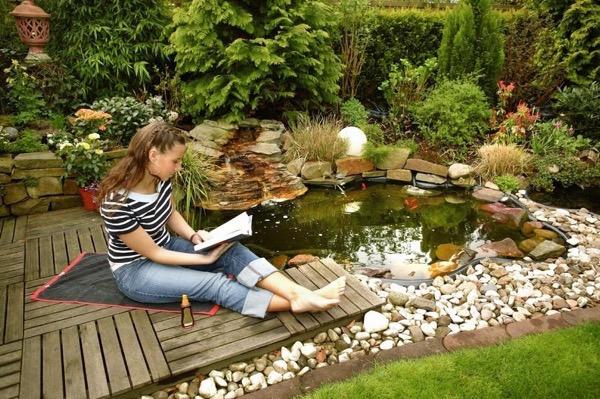 Как сделать искусственный пруд на дачном участке: подробный мастер-класс