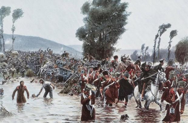Сражение у реки Кацбах: бой во время потопа