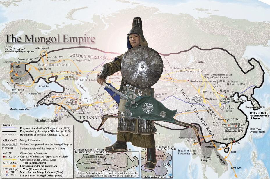 Алчная, Хищная, Великая Империя Чингисхана