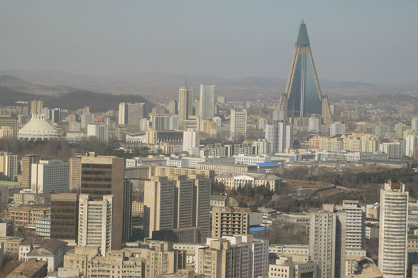 Ryugyong Hotel, Пхеньян, Северная Корея