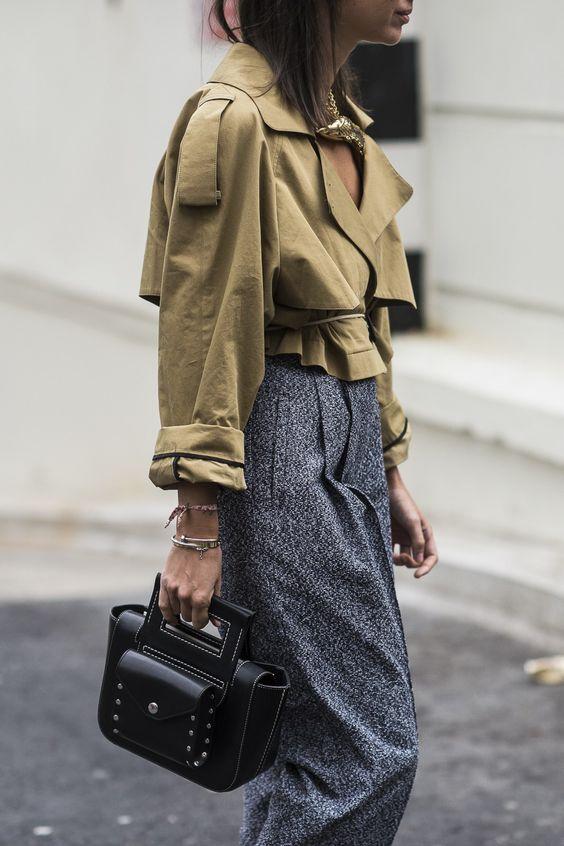 Модный ориентир: Укороченный тренч