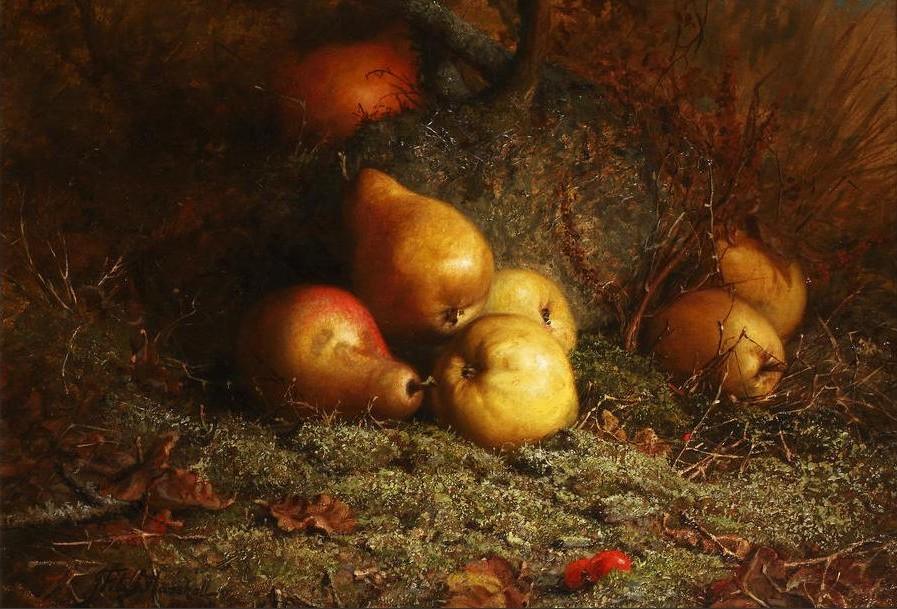 Когда на них глядели с любовью... Английский художник John Fitz Marshall (1859-1932)