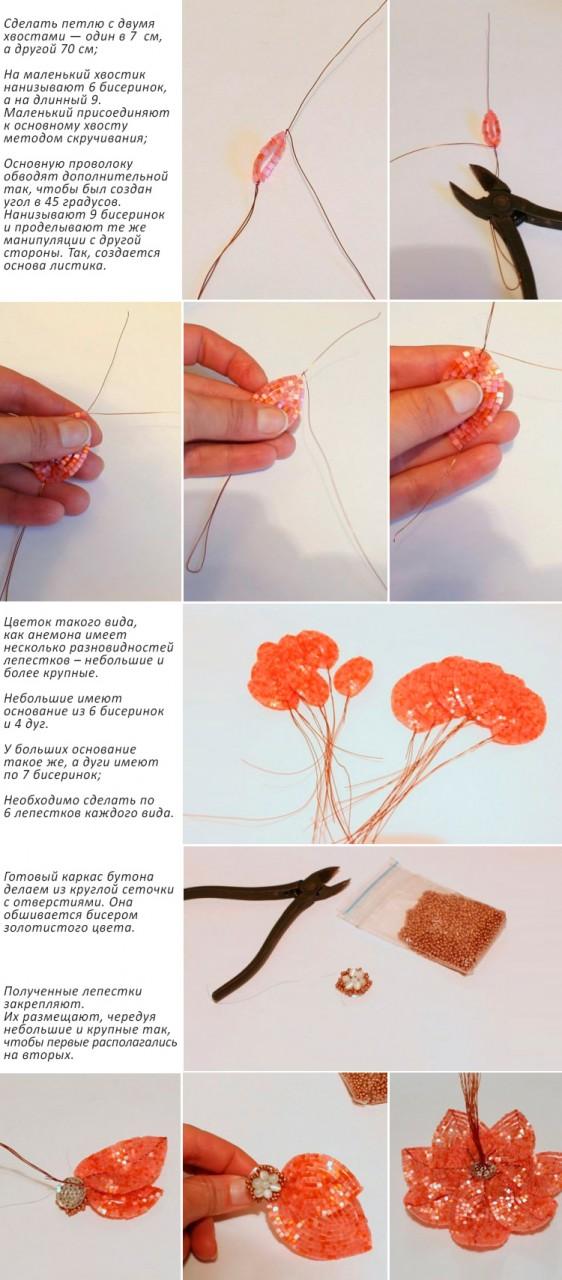 Как легко сделать цветок