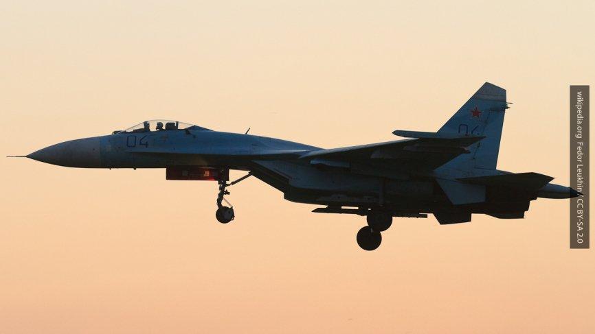 Засекреченная катастрофа Су-27 ВВС США: Украина может быть причастна к крушению