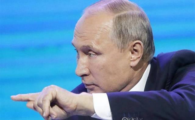 Запоздалый ответ Кремля: Пут…