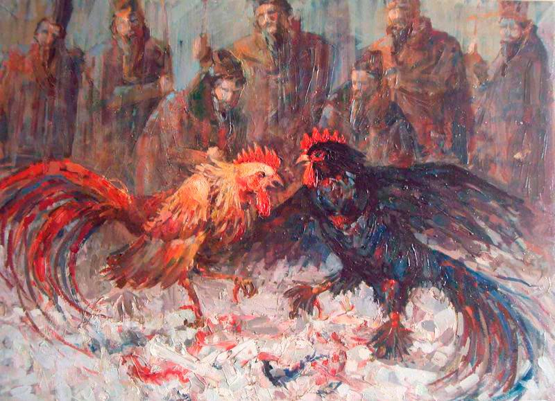 Петушиные бои — кровавая заб…