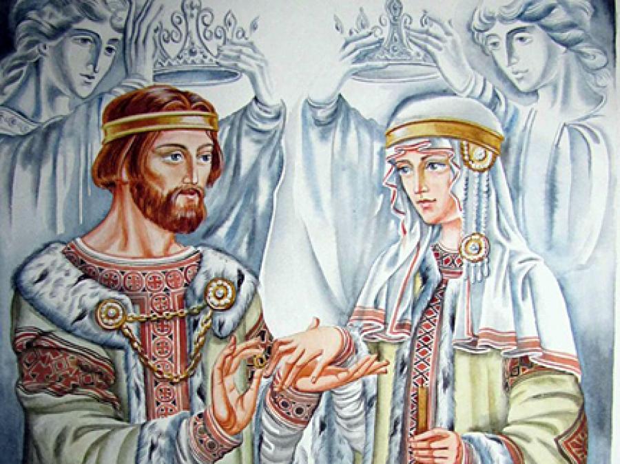 Сегодня наш день влюбленных! День Петра и Февронии