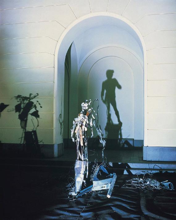 Скульптуры из теней