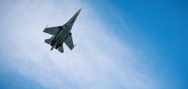 На Украине разбился истребитель Су-27