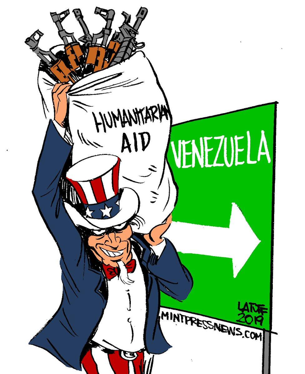 """""""Гуманитарное вторжение"""" в Венесуэлу"""