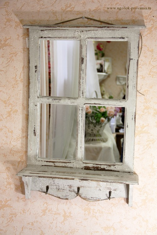 Зеркало в провансе своими руками