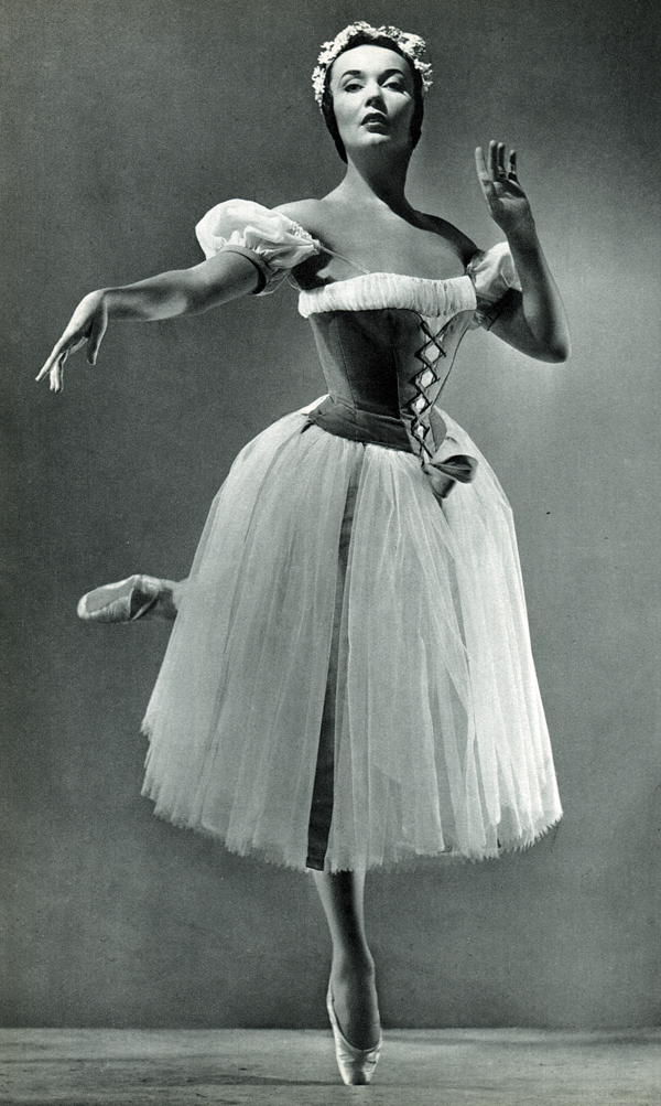 1954. Людмила Чернина в первом акте «Жизели» в миланской «Ла Скала»