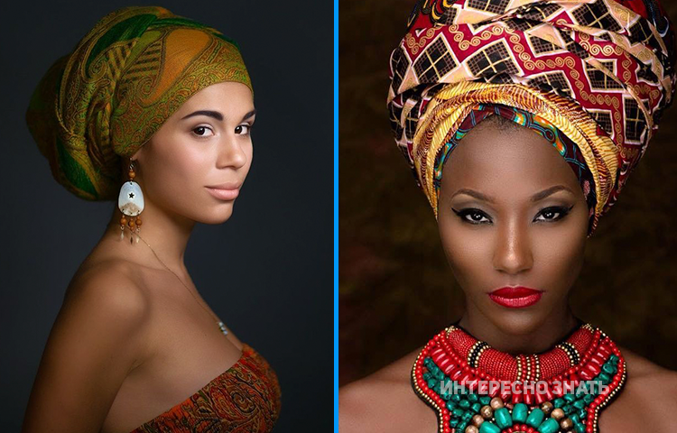 Традиционные африканские головные уборы покарают мировые подиумы