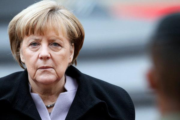 Ангела Меркель больше ничего…