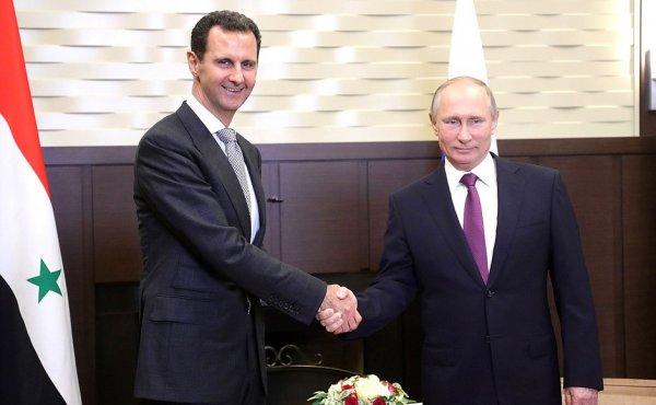 Путин на встрече с Асадом в Сочи рассказал о неизбежном разгроме террористов