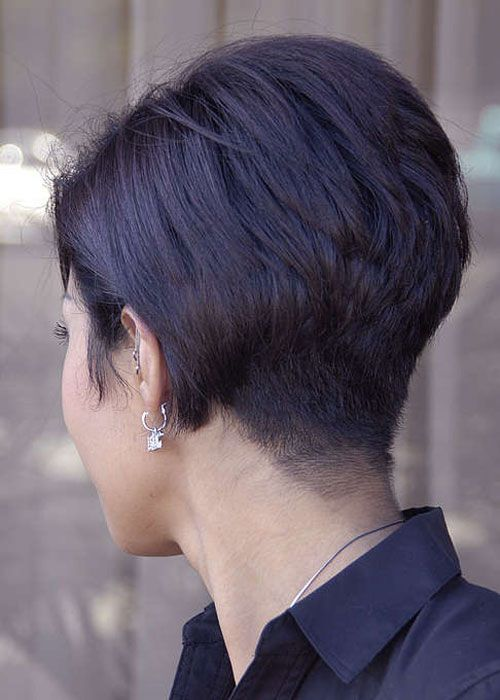 Sophisticated short haircuts