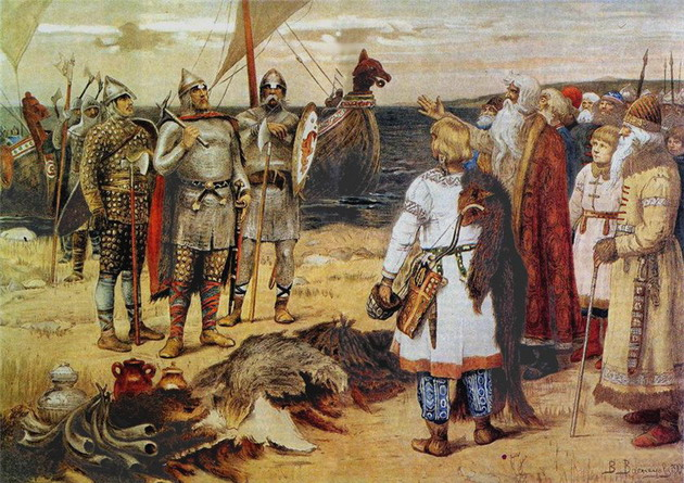 Кто правил Русью до прихода Рюрика