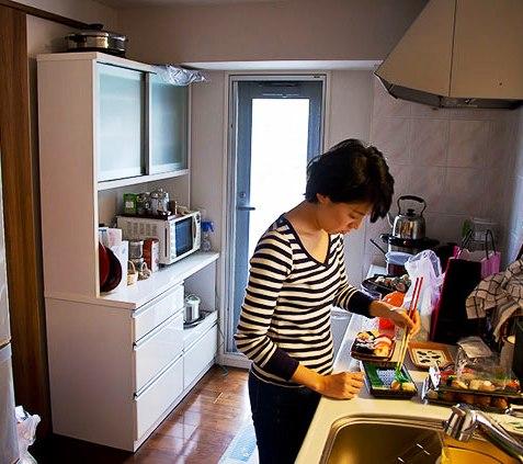 Как живут японцы средней руки — небольшой фоторепортаж из Осаки