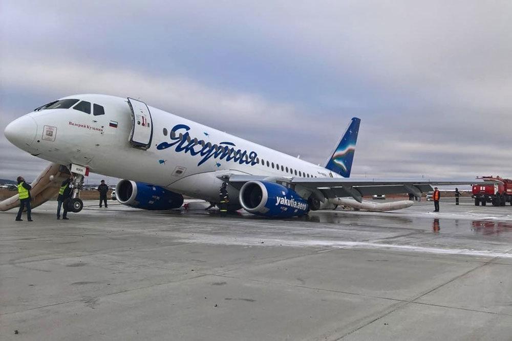 В Якутии началась проверка инцидента с Sukhoi Superjet 100