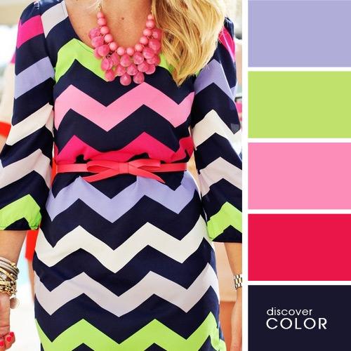 20 идеальных сочетаний цветов одежды для яркого образа