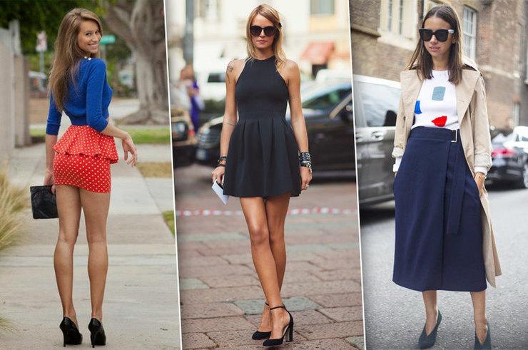 Длина одежды и высота каблуков: модная памятка с примерами