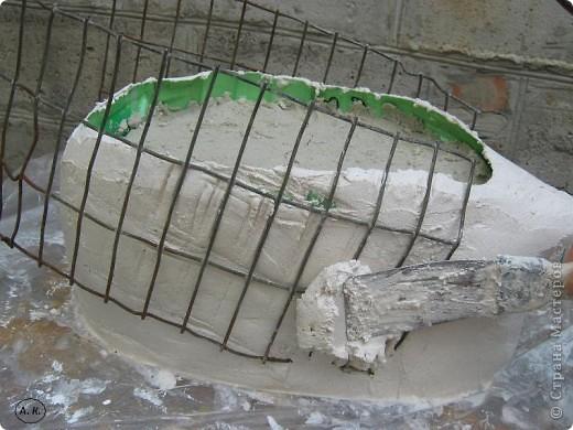 Мастер-класс, Скульптура Лепка: Лебедь-кашпо ( обещанный МК) ч. І. Фото 9