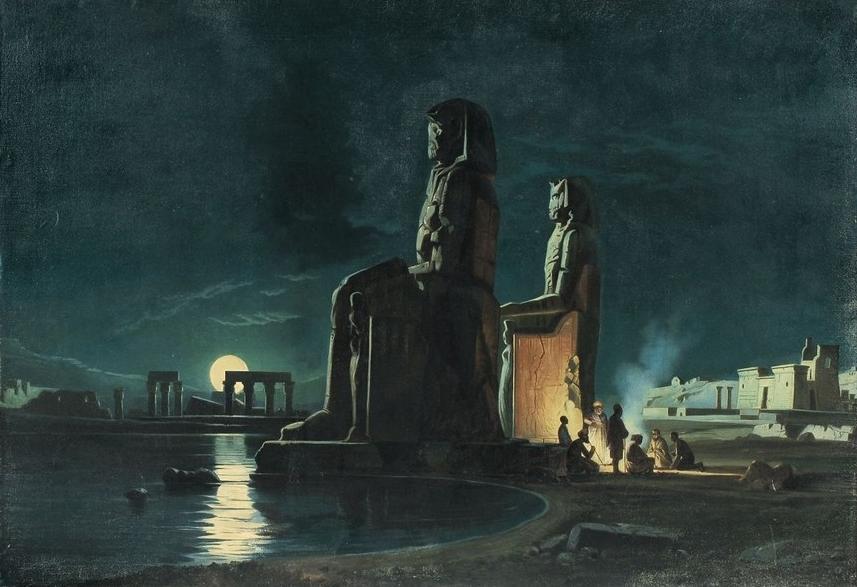 Немецкий художник Carl Friedrich Heinrich Werner (1808 - 1894)