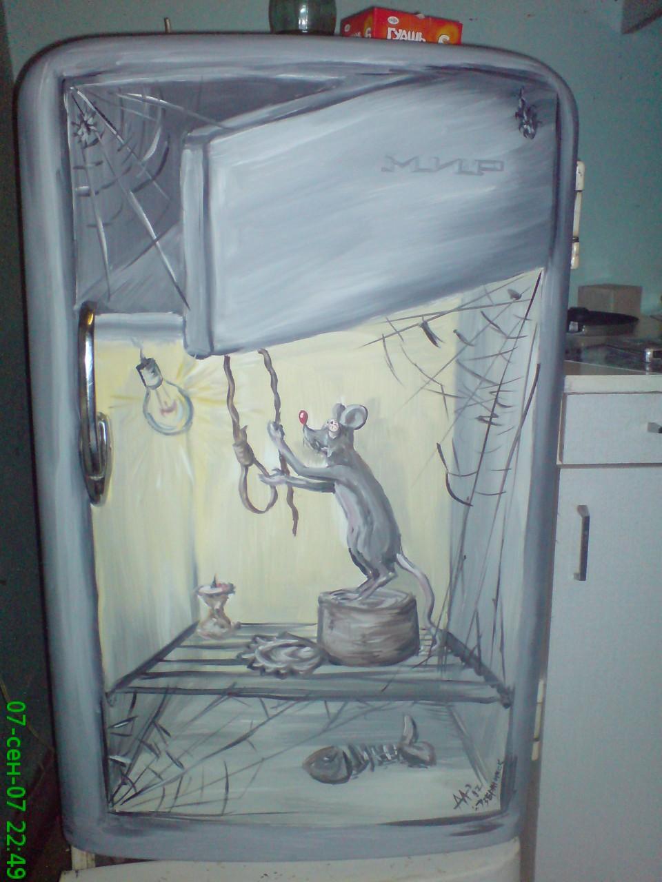 Декорируем холодильник своими руками